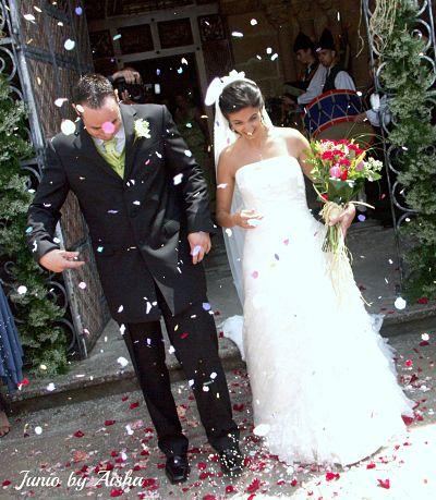 Foto de boda , Calendario personal mes de junio