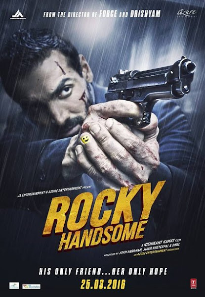 Poster Of Rocky Handsome 2016 480p 1CD DVDScr Hindi Full Movie Download