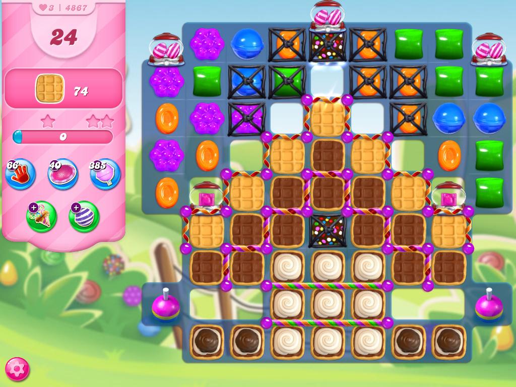 Candy Crush Saga level 4867