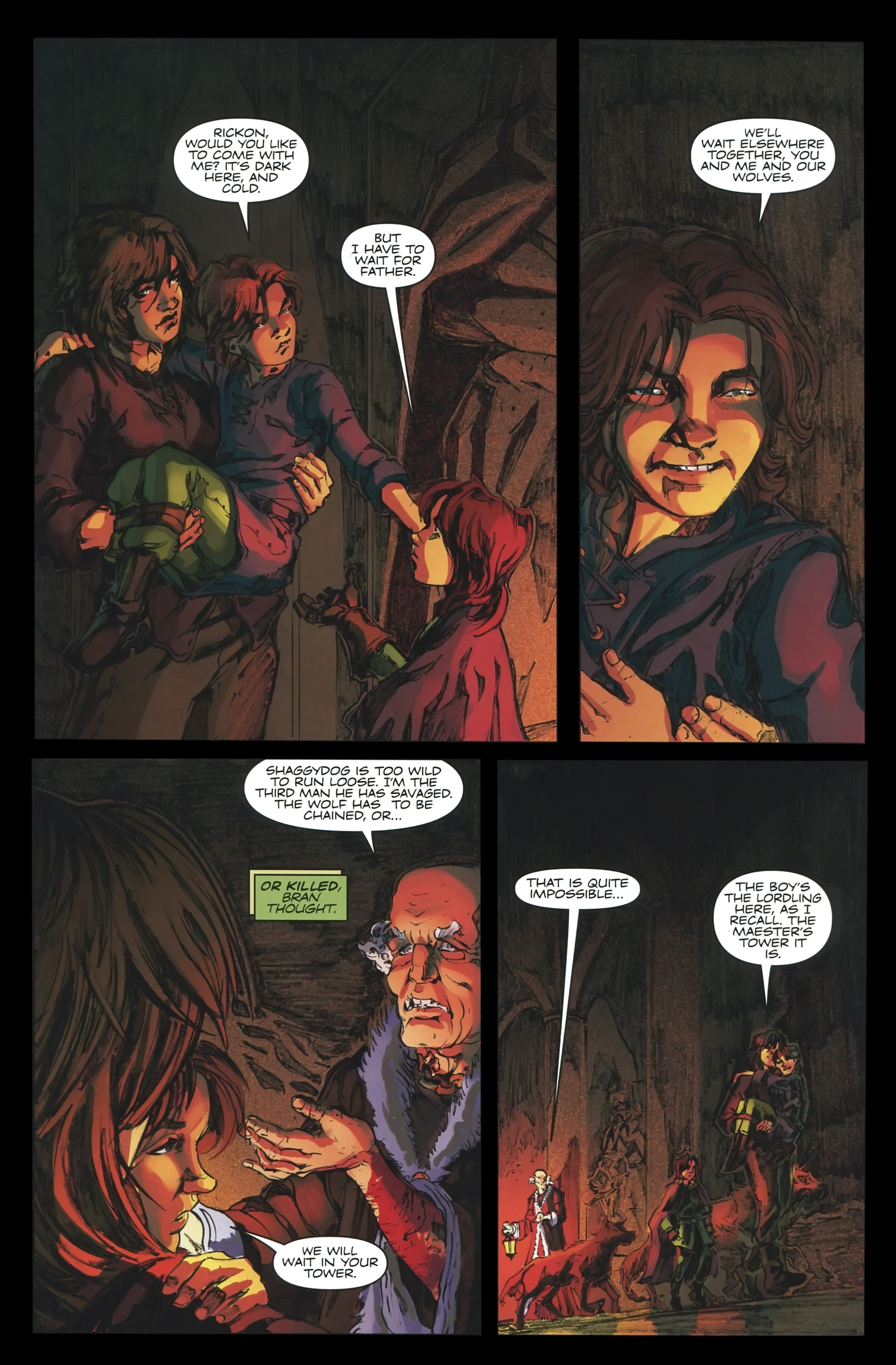 Read online A Game Of Thrones comic -  Issue #23 - 8