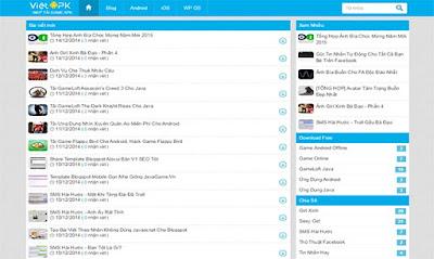 VietApk Blogger Template