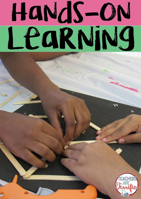 STEM is the ideal place to allow hands-on learning to help kids learn, apply different strategies, and learn to persevere. Hands-on learning is one to fabulous strengths of STEM! Read more on this blog post about best practices!