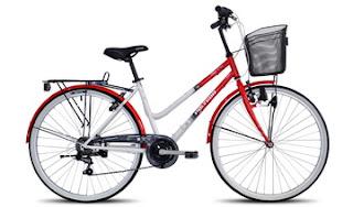Sepeda Mini atau Citybike untuk ibu-ibu Polygon Sierra