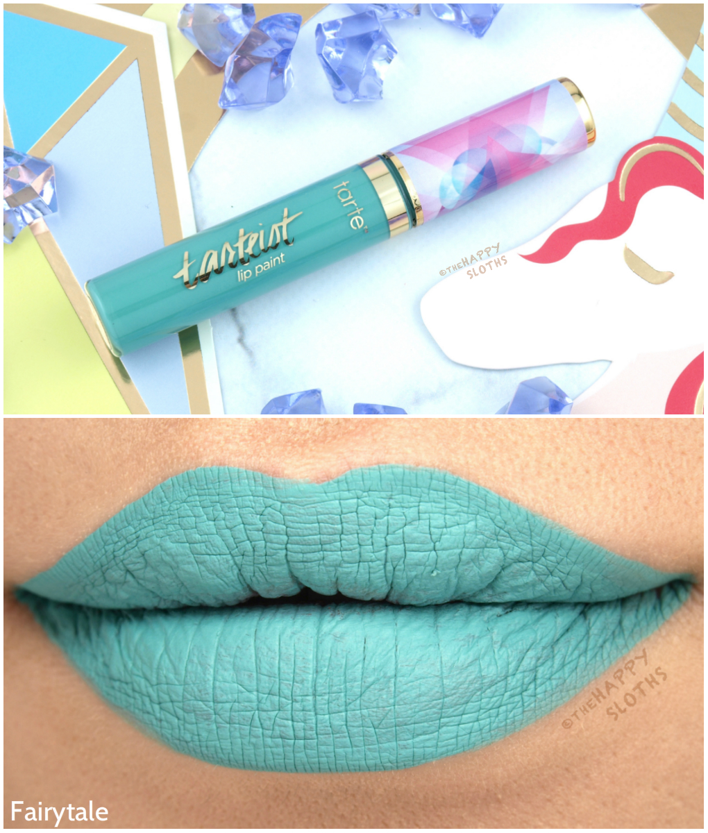 "Tarte Summer 2017 Tarteist Quick Dry Matte Lip Paint in ""Fairytale"": Review and Swatches"