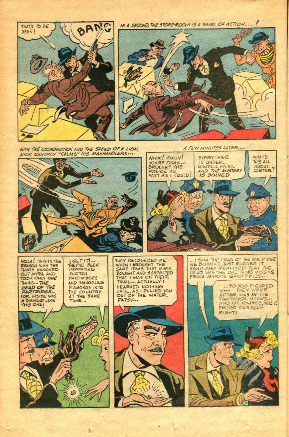 Read online Shadow Comics comic -  Issue #91 - 22