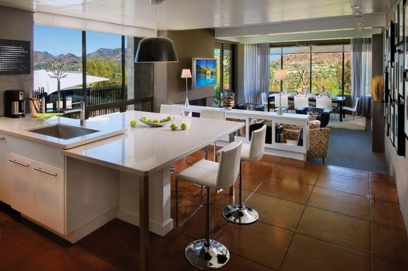 Offene Wohnküche Modern | Minimalistische Haus Design Offene Wohnkuche Mit Wohnzimmer