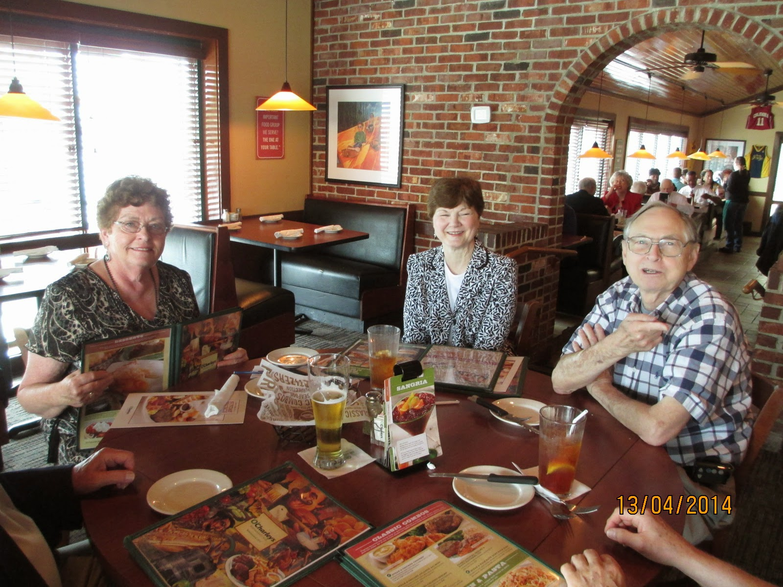 Older Wiser Lutherans (OWLS) Outing, 13 Apr 2014