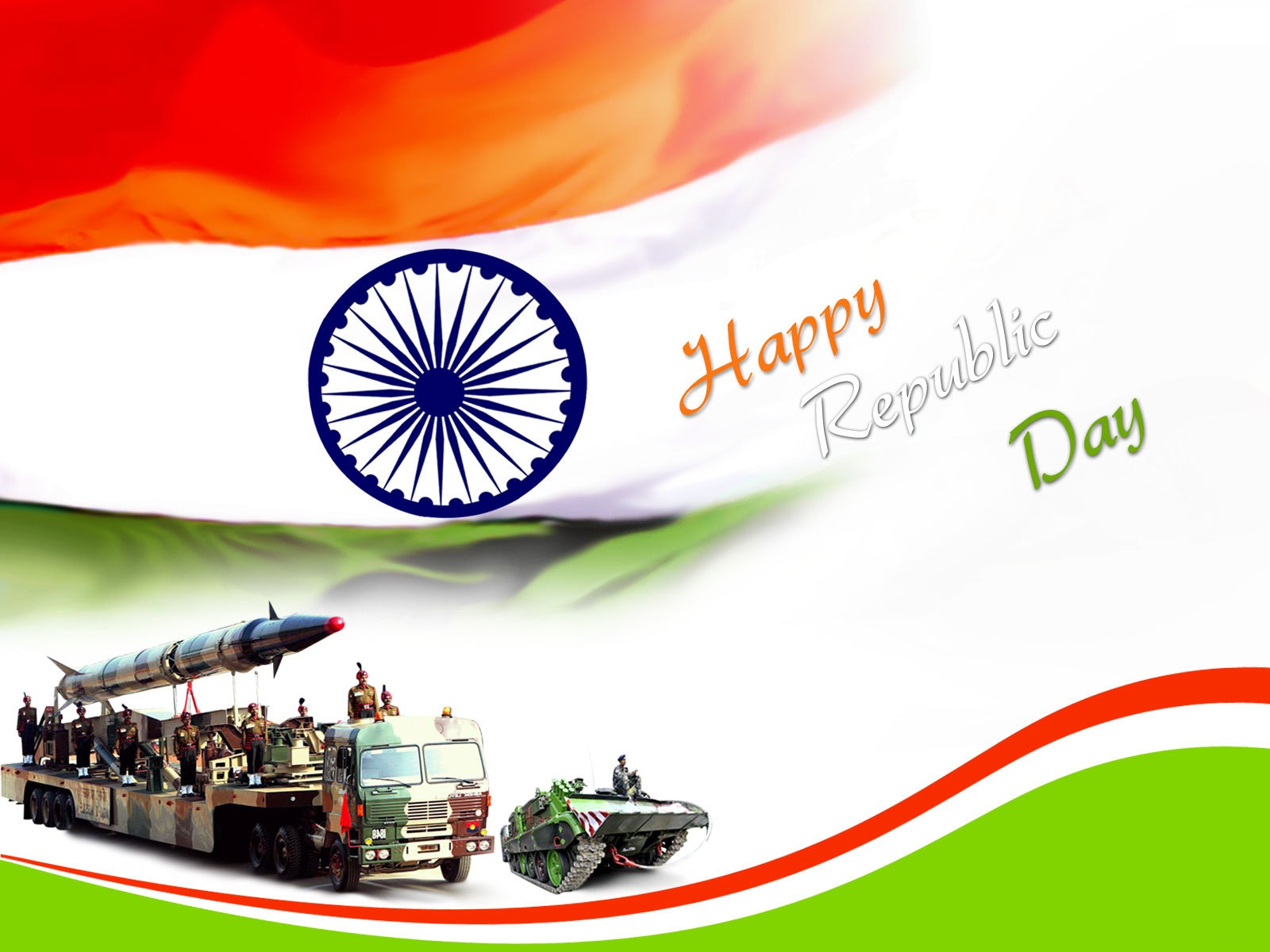 Indian Republic Day 26th January 2012 Celebration  National Festival