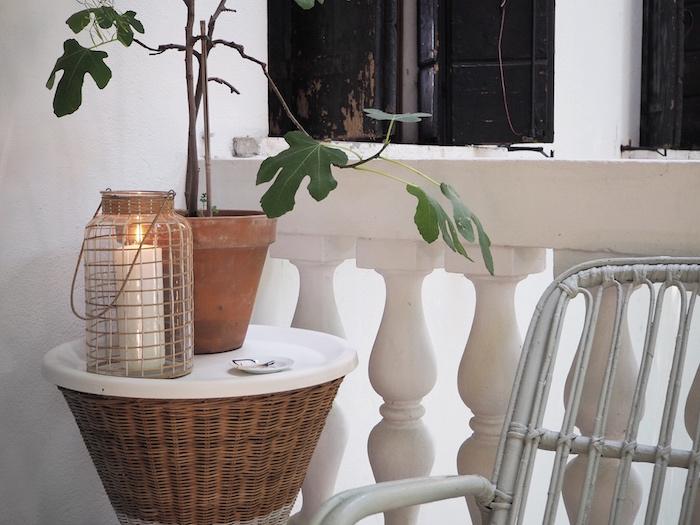 Una nuova lanterna boho-chic per il terrazzo