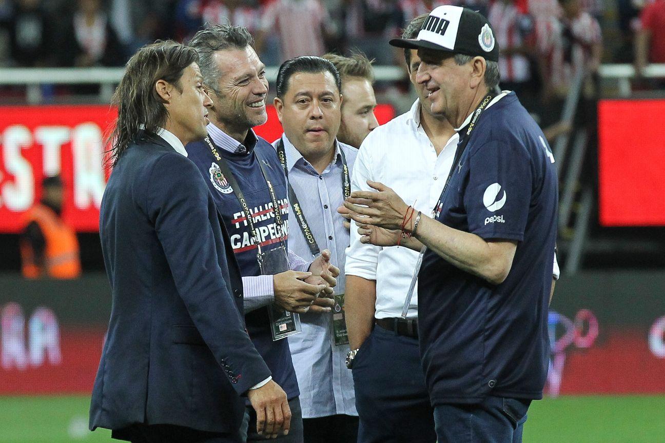 Jorge Vergara estará presente en Guadalajara para la final.