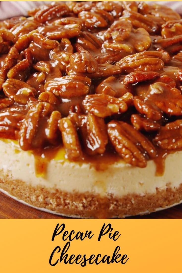 #Pecan #Pie #Cheesecake