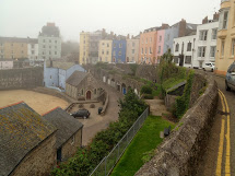 Jen And Bill Experience Foggy Day In Tenby Wales