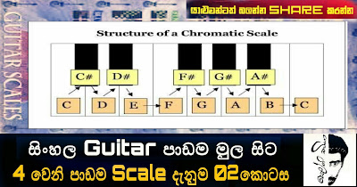 Scales දැනුම No .2 (Chromatic scale)