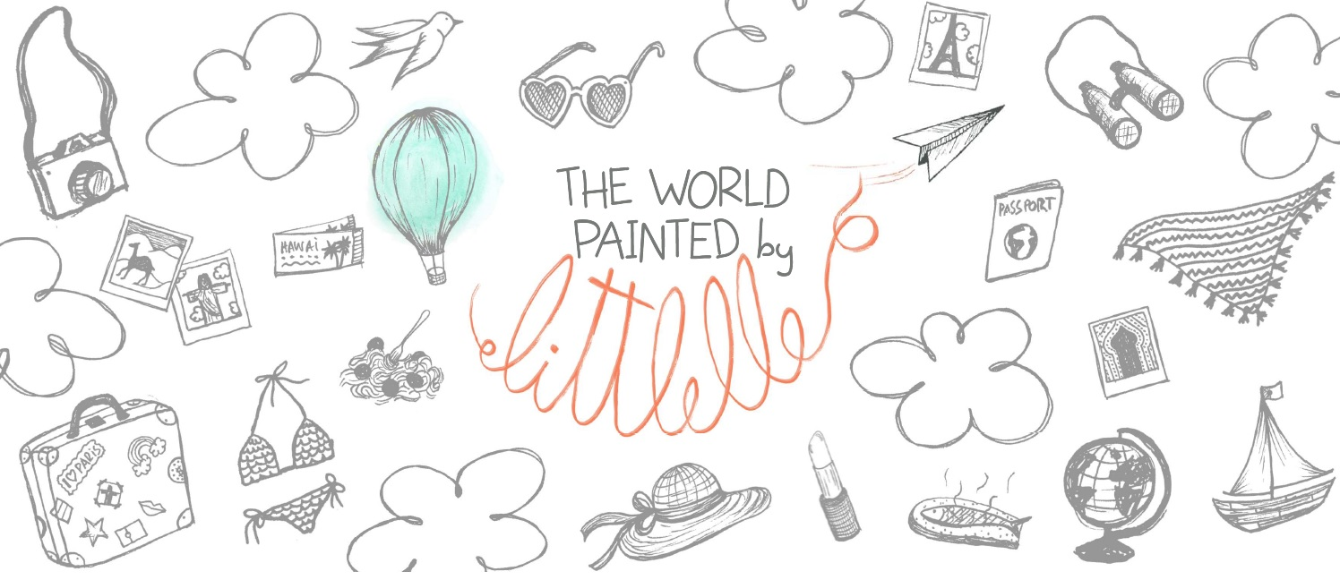 The world painted by Littlelle