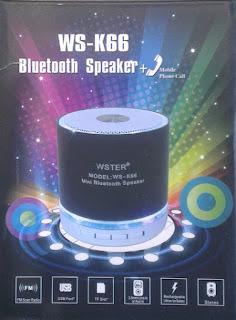 SPEAKER WS-K66 BLUETOOTH
