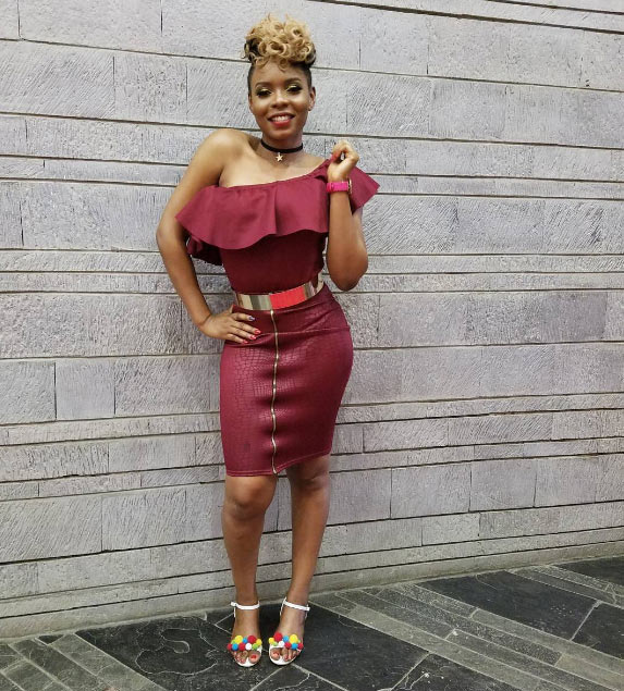 Yemi Alade stuns in strapless mini gown as she jets off to Brazil