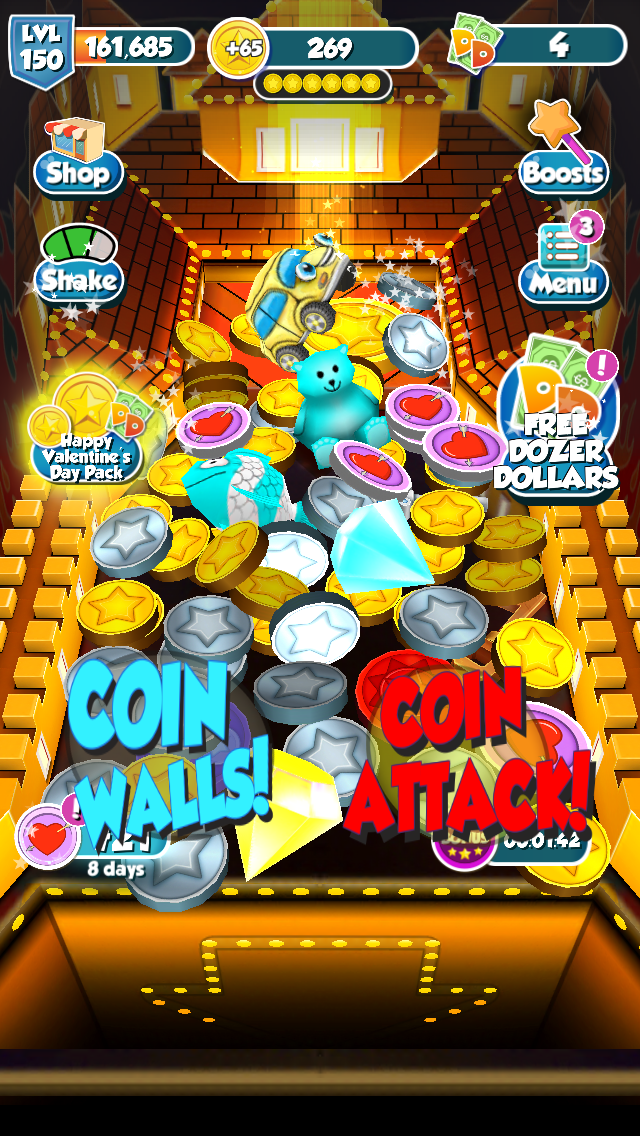 Coin Dozer Walkthrough