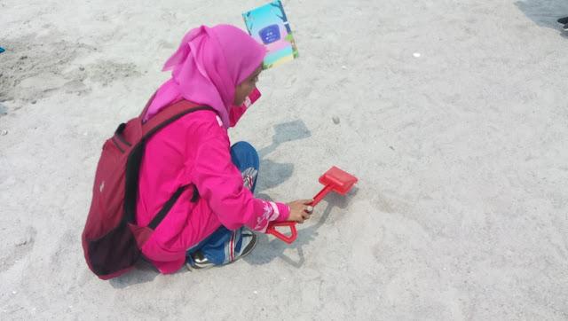 Manfaat membabgun istana pasir