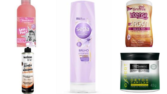 produtos de cabelo baratos low poo