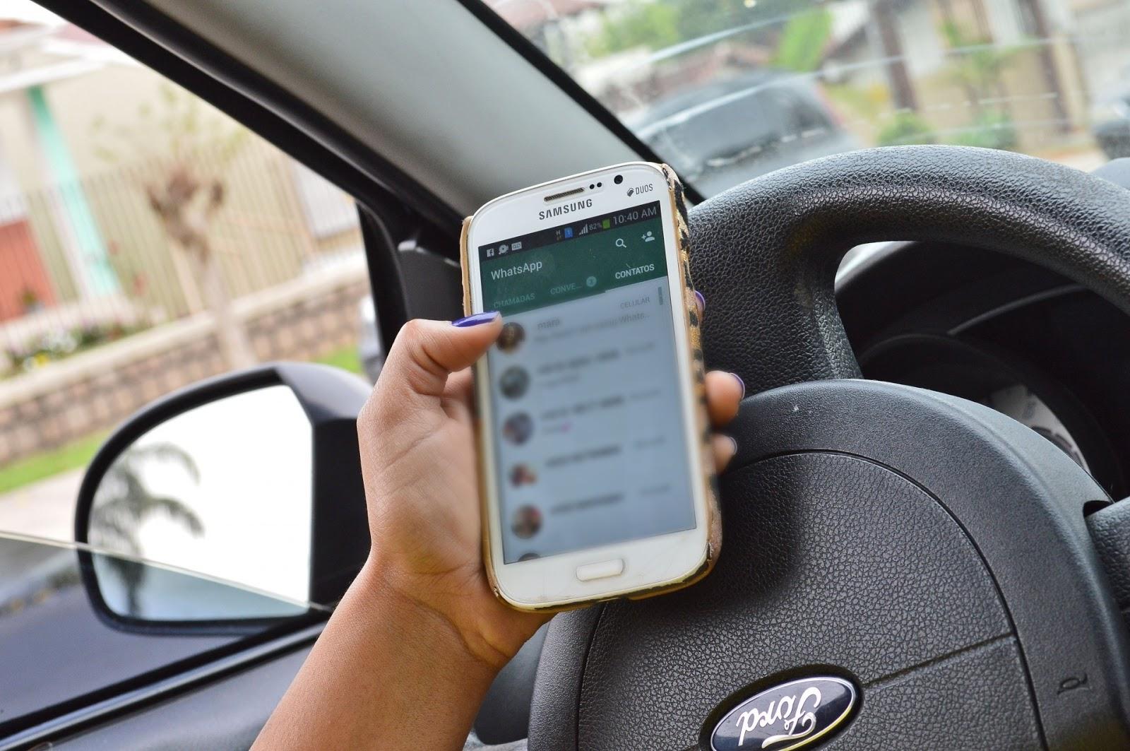 Usar celular ao volante passa a ser infração gravíssima