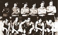 CLUB GETAFE DEPORTIVO - Getafe, Madrid, España - Temporada 1977-78 - El GETAFE DEPORTIVO, equipo desaparecido en 1983 por deudas, se clasificó 16º en la Liga de 2ª División, con Segura, Aparicio y Poli de entrenadores
