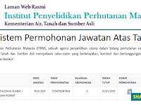 Jawatan Kosong di Institut Penyelidikan Perhutanan Malaysia - Gaji RM1,352 - RM5,672
