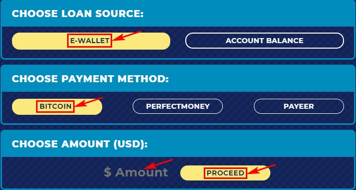 Создание депозита в LoanTech 2