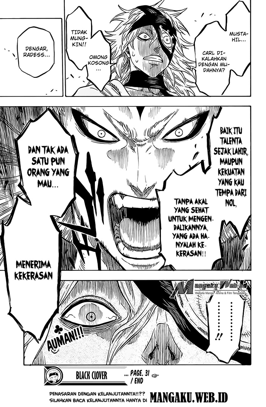 Baca Manga Black Clover Chapter 31 bahasa Indonesia