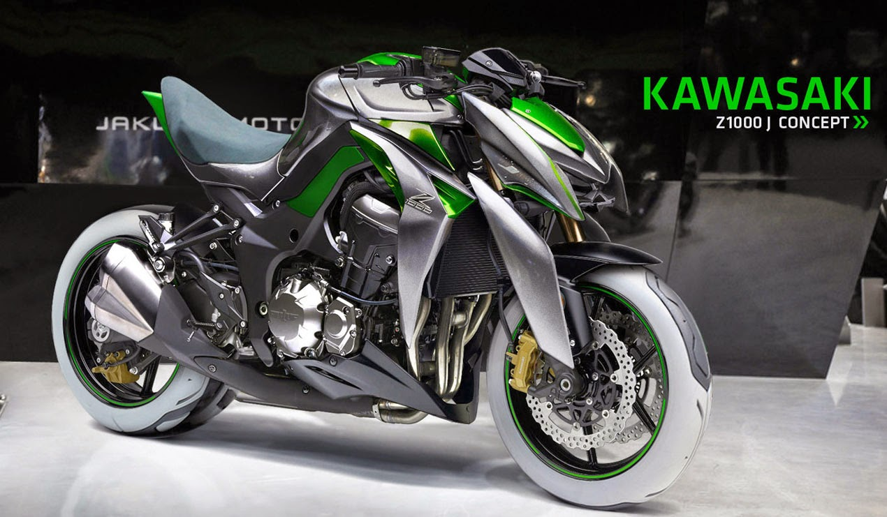 Most Stylish Cars Wallpapers When Kawasaki J Concept Flirting With The Z1000