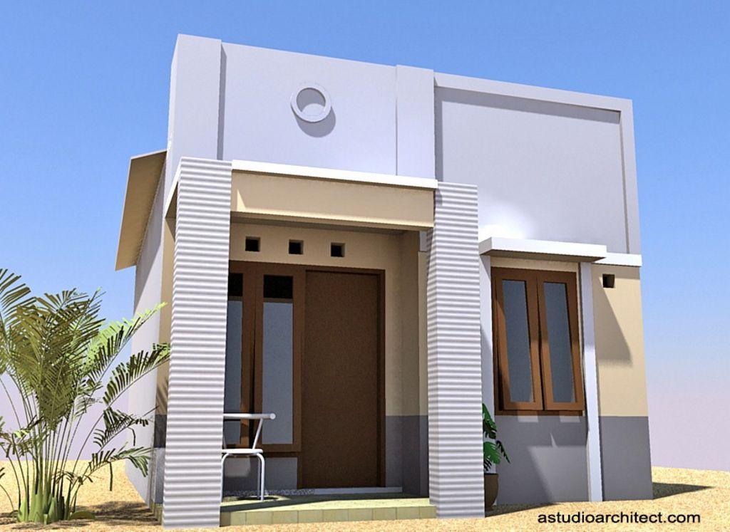Kreasi Rumah Sederhana Modern Terlihat Menarik
