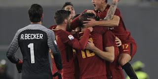 AS Roma vs Sampdoria Live Streaming online Today 28.1.2018 Serie A