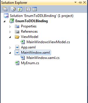 Sanganak Authority: WPF – MVVM – Combobox binding with enums