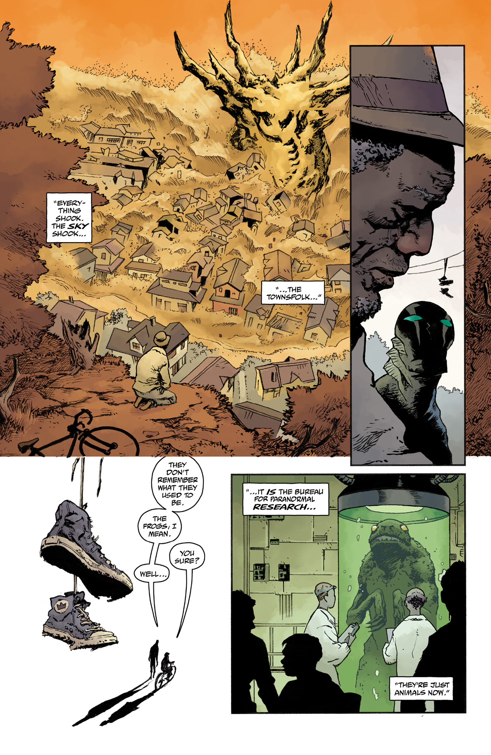 Read online Abe Sapien comic -  Issue #25 - 9