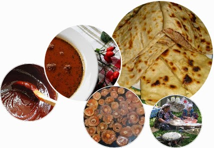Türkiye'nin Yemekleri Kastamonu Sofrasında