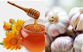 Điều trị ho bằng mật ong và tỏi
