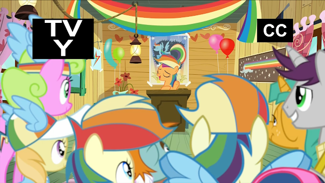 Equestria Daily Mlp Stuff Episode Followup The Washouts Lightning dust comes forward and when she's finished saying the washouts mean anypony can be amazing, her hoof goes up to cover the change in scootaloo's. equestria daily mlp stuff episode