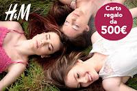 Vinci 500 € e fai shopping GRATIS con H&M!