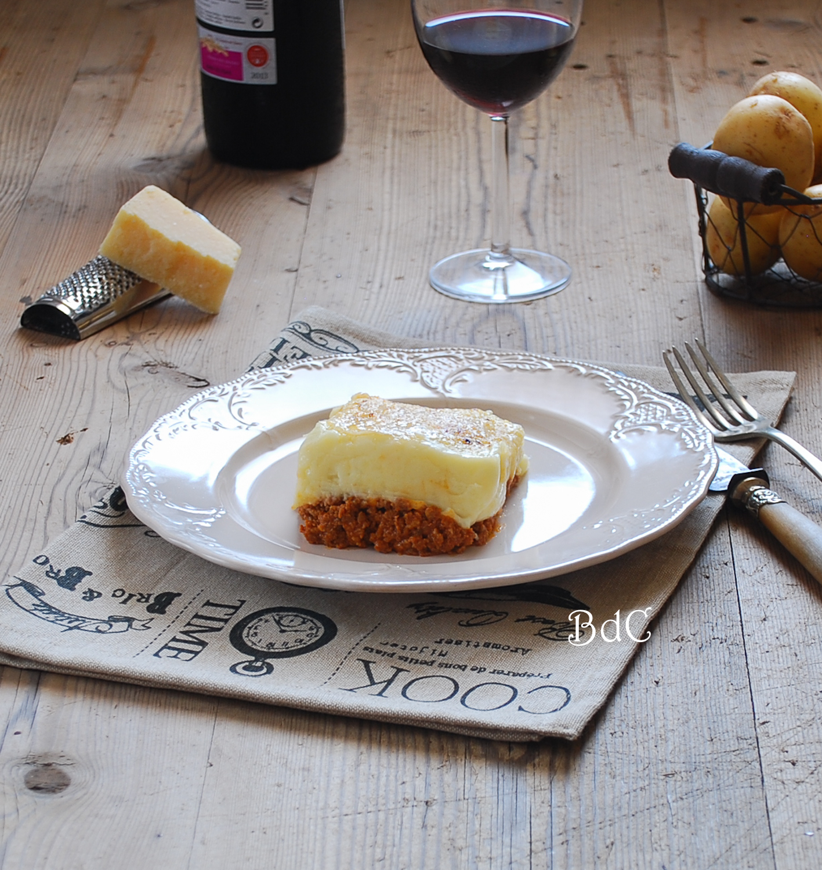 Shepherd's pie - Pastel de carne - El bistrot de Carmen