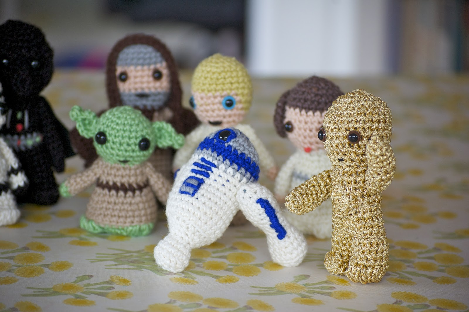 Greedy For Colour Crochet Star Wars Thats Right