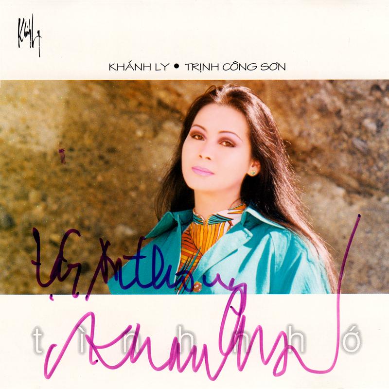 Khánh Ly CD - Tình Nhớ (NRG) + bìa scan mới