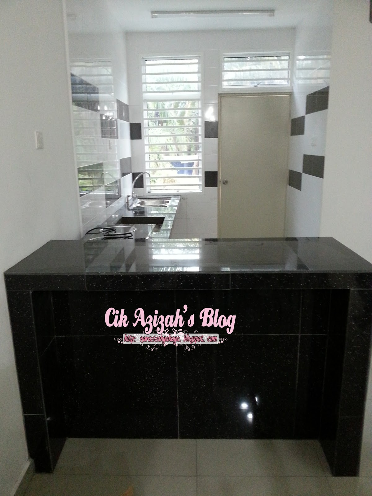 Home progress table top kitchen cabinet part 2 cik azizah for Table top kitchen cabinet