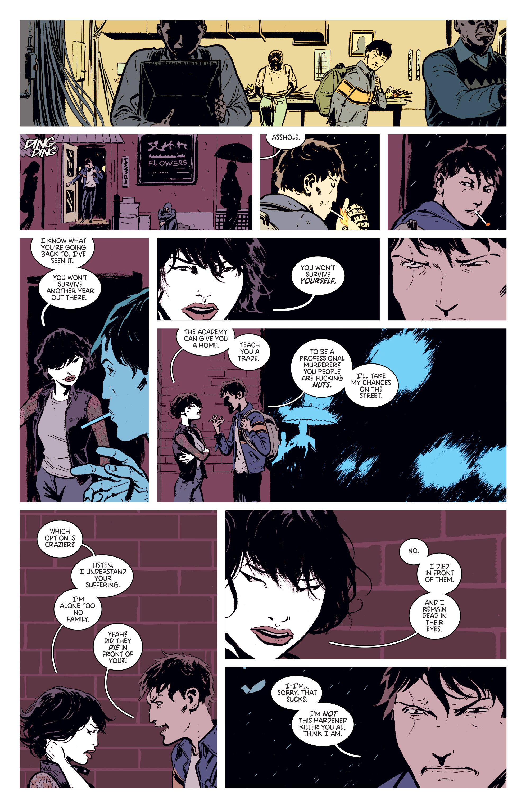 Read online Deadly Class comic -  Issue #1 - 26