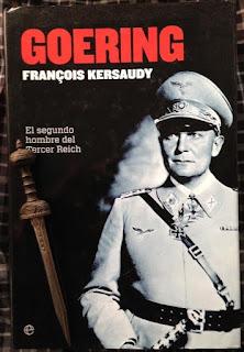 Portada del libro Goering, de Francois Kersaudy