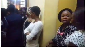 41 Nigerian prostitutes Apprehended In Ghana, Age Of These Prostitutes Gets Tongues Wagging  (Video)