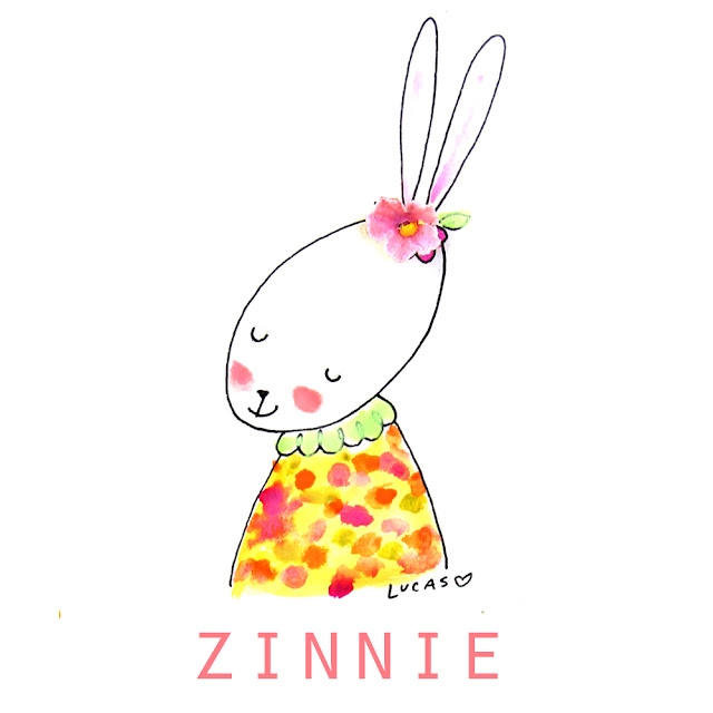 Zinnie the Rabbit | Linzer Lane Blog