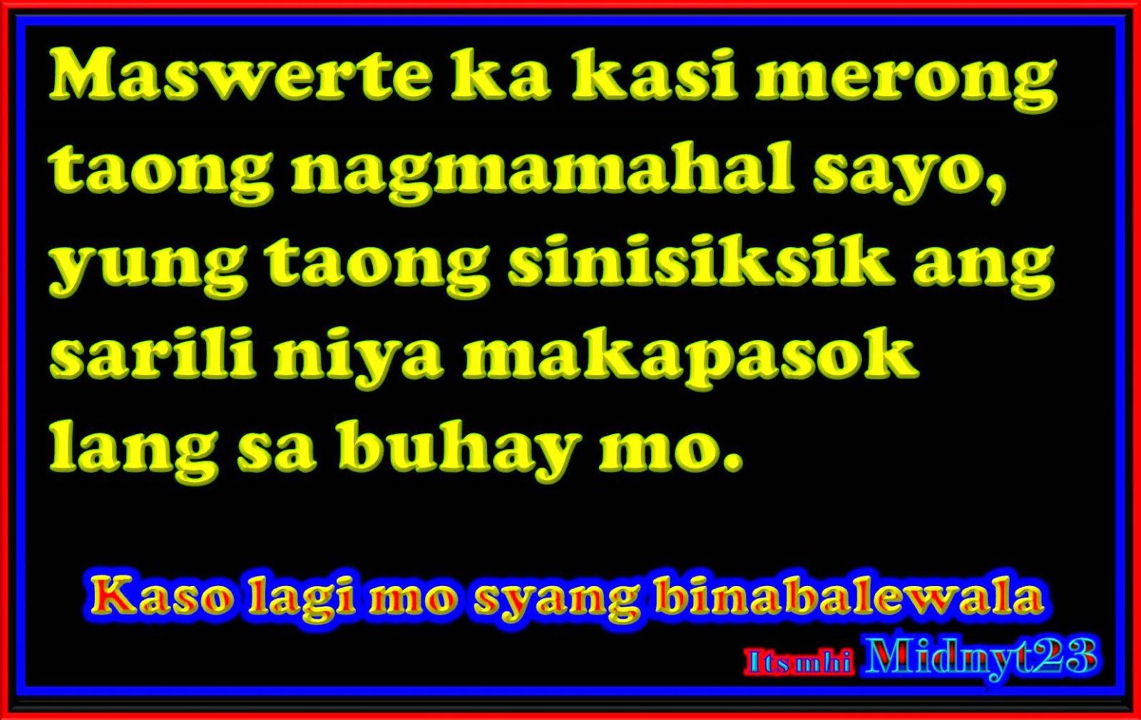 Quotes for Ex: Mga patama Quotes tagalog Puwedeng Gawin