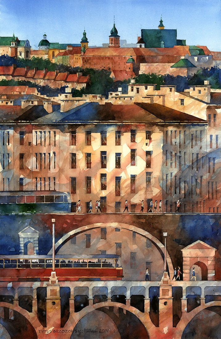 13-Powisle-Tytus-Brzozowski-Architecture-Meets-Watercolors-Paintings-in-Warsaw-www-designstack-co
