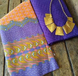 Kain Batik dan Embos 015 Pekalongan Ungu