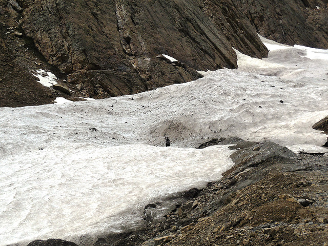 Glacier at Mud