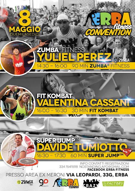 Erba Fitness Convention, 8 maggio 2016 a Erba, Como